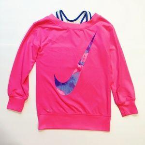 NIKE Pink Dri Fit Twofer